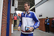 Nemanja Matic of Chelsea arrives at Selhurst Park before k/o. Barclays Premier League match, Crystal Palace v Chelsea at Selhurst Park in London on Sunday 3rd Jan 2016. pic by John Patrick Fletcher, Andrew Orchard sports photography.