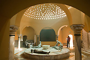 Israel, Western Galilee, Turkish Bath (Hamam) in the old City of Acre