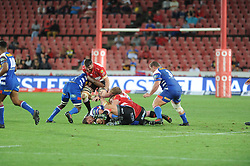 070418 Emirates Airlines Park, Ellis Park, Johannesburg, South Africa. Super Rugby. Lions vs Stormers. A loose scrum.<br />Picture: Karen Sandison/African News Agency (ANA)