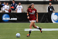 04 December 2011: Stanford's Taylor McCann. The Stanford University Cardinal defeated the Duke University Blue Devils 1-0 at KSU Soccer Stadium in Kennesaw, Georgia in the NCAA Division I Women's Soccer College Cup Final.