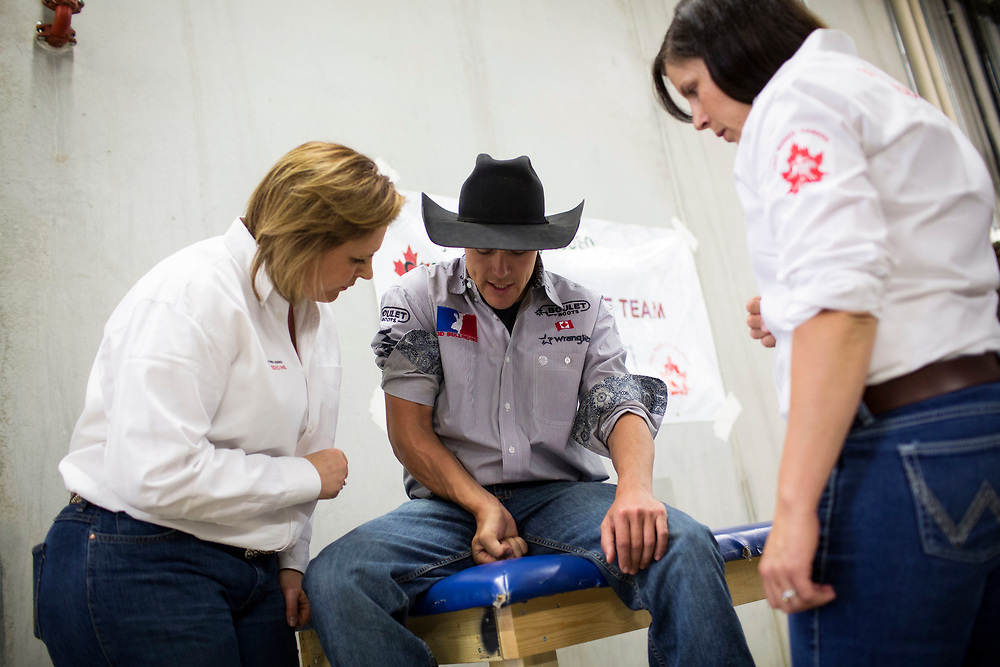 during the PBR event in innisfail, Alberta, Wednesday, June 14, 2017.Todd Korol/The Globe and Mail
