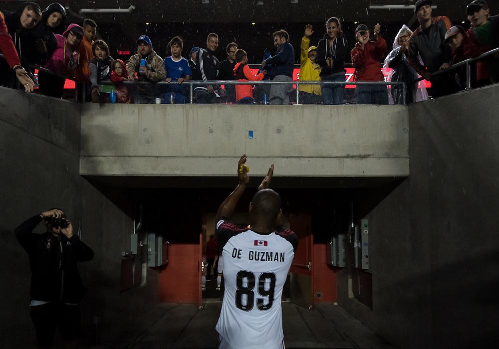 OTTAWA, ON - JULY 12: Ottawa Fury FC versus Montreal Impact at TD Place Stadium in Ottawa, ON. Canada on July 12, 2017.<br /> <br /> PHOTO: Steve Kingsman/Freestyle Photography/Ottawa Fury FC