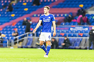 Cardiff City's Will Vaulks (6) in action during the EFL Sky Bet Championship match between Cardiff City and Birmingham City at the Cardiff City Stadium, Cardiff, Wales on 16 December 2020.