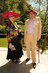 Th 2010 Royal Horticultural Society Chelsea Flower show in the grounds of Royal Hospital Chelsea, London on 24th May 2010.<br /> <br /> Picture shows:-The EARL & COUNTESS OF ONSLOW