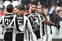 Goal Celebration esultanza gol Sami Khedira<br /> Torino 04-02-2018 Allianz  Stadium Calcio Serie A Juventus - Sassuolo foto Image Sport/Insidefoto