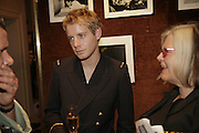 Christian Brassington, Launch of perfume: L'Air de Rien, The Arts Club, 40 Dover Street, London,New fragrance created for Birkin by perfumier Miller Harris. 4 September 2006. ONE TIME USE ONLY - DO NOT ARCHIVE  © Copyright Photograph by Dafydd Jones 66 Stockwell Park Rd. London SW9 0DA Tel 020 7733 0108 www.dafjones.com