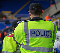 Police inside St Andrews for Birmingham City's clash with local rivals Aston Villa<br /> <br /> Photographer James Williamson/CameraSport<br /> <br /> The EFL Sky Bet Championship - Birmingham City v Aston Villa - Sunday October 30th 2016 - St Andrews - Birmingham<br /> <br /> World Copyright © 2016 CameraSport. All rights reserved. 43 Linden Ave. Countesthorpe. Leicester. England. LE8 5PG - Tel: +44 (0) 116 277 4147 - admin@camerasport.com - www.camerasport.com