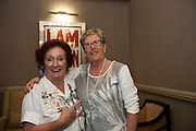 03/11/2016 Repro fee: Rita Gilligan's book The Rock 'n' Roll Waitress from The Hard Rock Cafe My Life by Rita Gilligan in Hotel Meyrick, Galway was launched my Cllr. Noel Larkin Mayor of Galway. At the launch were author Rita Gilligan with Margaret Langan Castlelawn,<br />   Photo :Andrew Downes, XPOSURE