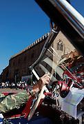 GP TAZIO NUVOLARI 2012. Mantova Mercedes 190 sl 1957