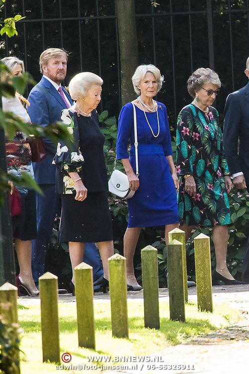 NLD/Den Haag/20190822 - Uitvaart Prinses Christina, Prinses Margriet, Prinses Irene, Prinses Beatrix, Koning Willem Alexander