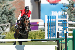 Madden Beezie, (USA), Breitling LS<br /> Telus Cup<br /> Spruce Meadows Masters - Calgary 2015<br /> © Hippo Foto - Dirk Caremans<br /> 09/09/15