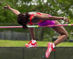 adidas Grand Prix Diamond League professional track & field meet: womens high jump,