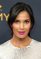 Padma Lakshmi arriving for The 68th Emmy Awards at the Microsoft Theater, LA Live, Los Angeles, 18th September 2016.