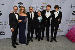 January 27, 2019 - Los Angeles, California, U.S - CAST FROM OZARK during silver carpet arrivals for the 25th Annual Screen Actors Guild Awards, held at The Shrine Expo Hall. (Credit Image: © Kevin Sullivan via ZUMA Wire)