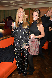 Left to right, TOR DASHWOOD and DAVINA COLLAS at a party hosted by Pace Gallery as part of Frieze 2015 held at 45 Jermyn Street, London on 15th October 2015.