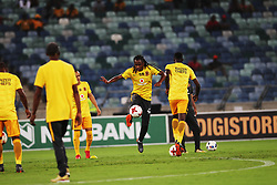 10032018 (Durban) Chiefs players warming up when Kaizer Chiefs will look to advance to the next round of the Nedbank Cup top 16 when hosting Stellenbosch FC at the Moses Mabhida Stadium. Amakhosi went down 3-1 to arch-rivals Orlando Pirates in a tense Soweto derby match last weekend where they lost ground in their league title chase.Picture: Motshwari Mofokeng/African News Agency/ANA
