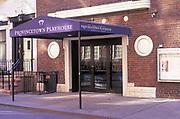 the old Provincetown Playhouse, Macdougal Street, Greenwich Village, Manhattan, New York