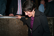GHISLAINE MAXWELL; The Supper Club, party which follows evening of 50 dinner parties raising money for the Terrence Higgins Trust. CafŽ de Paris, 3 Coventry Street, London, 28 October 2008. *** Local Caption *** -DO NOT ARCHIVE