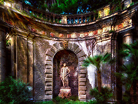 """Ancient Roman garden replica of Hercules from Pompey""…<br />