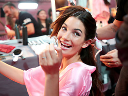 Victoria's Secret Fashion Show - Hair and Makeup, Paris, 2016, Paris, France. 30 Nov 2016 Pictured: Lily Aldridge. Photo credit: MEGA TheMegaAgency.com +1 888 505 6342