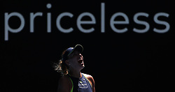 MELBOURNE, Jan. 22, 2018  Angelique Kerber of Germany celebrates after the women's singles fourth round match against Hsieh Su-wei of Chinese Taipei at Australian Open 2018 in Melbourne, Australia, Jan. 22, 2018. Kerber won 2-1. (Credit Image: © Bai Xuefei/Xinhua via ZUMA Wire)