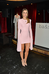 VOGUE WILLIAMS at a party to celebrate the UK launch of French fashion label ba&sh at The Arts Club, Dover Street, London on 15th March 2016.