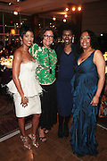 October 19, 2012-New York, NY: (L-R) On-Air Personality Tamron Hall, Fern Mallis, President, Fern Mallis Llc & Creator NY Fashion Week, Constance White, Editor-in-Chief, Essence Magazine and Gail Perry, President BRAG at the BRAG 42nd Annual Scholarship & Scholarship Awards Dinner Gala held at Pier Sixty at Chelsea Piers on October 19, 2012 in New York City. BRAG, a 501 (c) (3) not for profit organization, is dedicated to the inclusion of African Americans and all people of color in retail and related industries.  (Terrence Jennings)