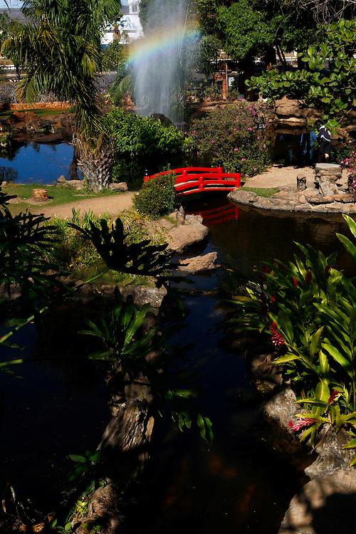 Caldas Novas_GO, Brasil.<br /> <br /> Jardim Japones em Caldas Novas, Goias.<br /> <br /> Japanese garden in Caldas Novas, Goias.<br /> <br /> Foto: MARCUS DESIMONI / NITRO