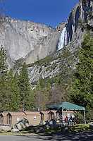 Yosemite National Park, California, USA, cabins, very basic, shared toilets, shared washrooms, 201304181524<br /> <br /> Copyright Image from Victor Patterson, 54 Dorchester Park, Belfast, UK, BT9 6RJ<br /> <br /> Tel: +44 28 9066 1296<br /> Mob: +44 7802 353836<br /> Voicemail +44 20 8816 7153<br /> Skype: victorpattersonbelfast<br /> Email: victorpatterson@me.com<br /> Email: victorpatterson@ireland.com (back-up)<br /> <br /> IMPORTANT: If you wish to use this image or any other of my images please go to www.victorpatterson.com and click on the Terms & Conditions. Then contact me by email or phone with the reference number(s) of the image(s) concerned.