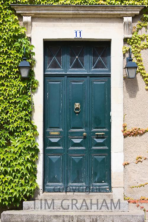 Period doorway in Ballee, Normandy, France