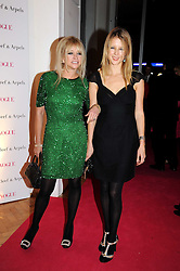 Left to right, JO WOOD and her daughter in law TILLY WOOD at Vogue's Fantastic Fashion Fantasy Party in association with Van Cleef & Arpels to celebrate Vogue's Secret Address Book held at One Marylebone Road, London NW1 on 3rd November 2008.
