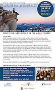 North Cascades Institute: Flyer (December 2014)