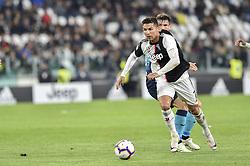 May 19, 2019 - Turin, Turin, Italy - Cristiano Ronaldo of Juventus FC during the Serie A match at Allianz Stadium, Turin (Credit Image: © Antonio Polia/Pacific Press via ZUMA Wire)
