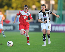 Bristol Academy Womens' Natalia Pablos Sanchon  - Photo mandatory by-line: Alex James/JMP - Mobile: 07966 386802 - 04/10/2014 - SPORT - Football - Bristol - Stoke Gifford Stadium - Bristol Academy Womens v Notts County Ladies - Womens Super League