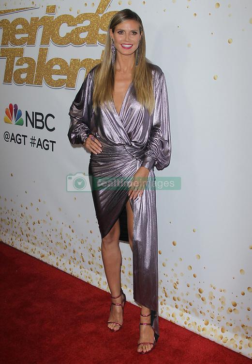 Americas Got Talent Season 13 - Red Carpet. 04 Sep 2018 Pictured: Heidi Klum. Photo credit: Jaxon / MEGA TheMegaAgency.com +1 888 505 6342
