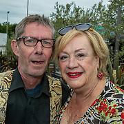 NLD/Hoofddorp/20190603 - 39ste Society Lunch, Viola Holt - van Emmenes en partner Peter Holt