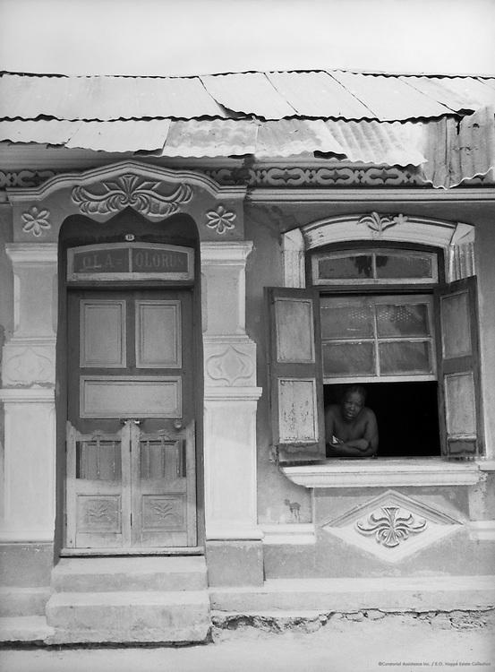 House, Yaba, Nigeria, Africa, 1937