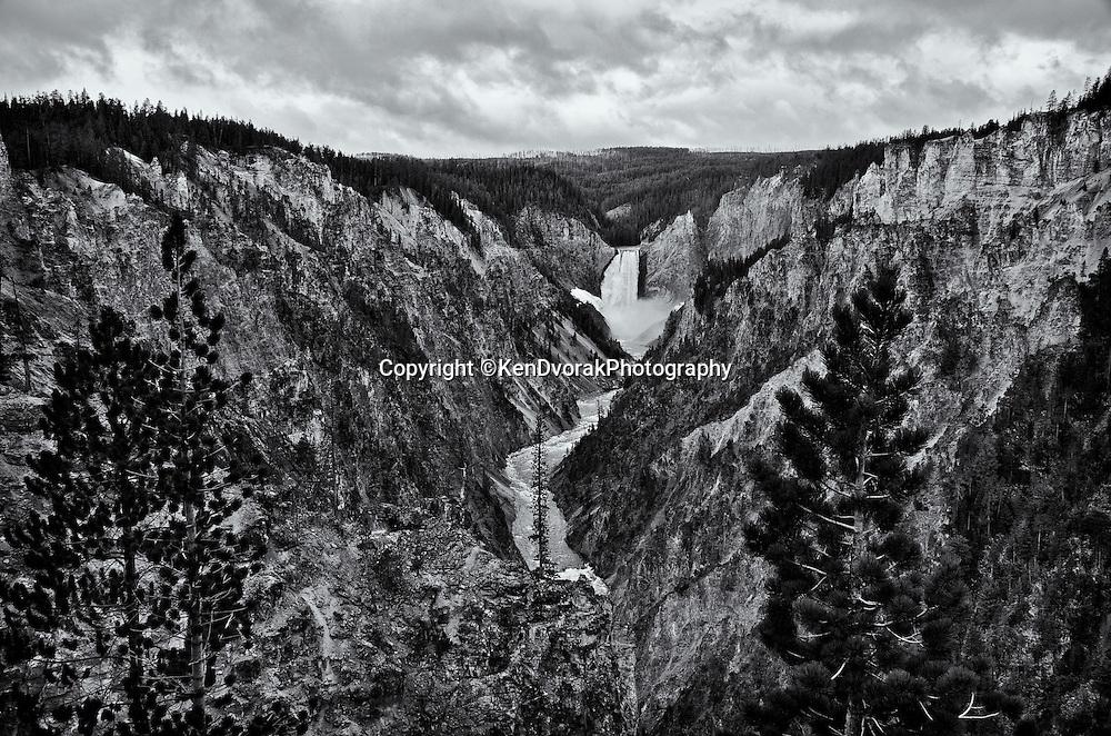 Teton/Yellowstone '13<br /> B&W conversion 9/27/13<br /> printed 1/15/14