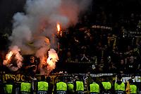 Young Boys supporters tifosi <br /> Torino 02-10-2018 Juventus Stadium Football Calcio Uefa Champions League 2018/2019 Group H Juventus - Young Boys <br /> Foto Andrea Staccioli / Insidefoto