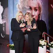 London,England,UK : 25th May 2016 : This is the Mission PR teams attend the Marilyn Monroe: Legacy of a Legend launch at the Design Centre, Chelsea Harbour, London. Photo by See Li