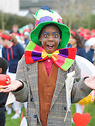 Joshua Otguakun at the best  Galway St Patrick's Day Parade in years with a hugely international feel to it . photo:Andrew Downes. Photo:Andrew Downes