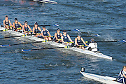 London, United Kingdom. Putney Town RC. C Crew.  from Barnes Rail Bridge. 2014 Women's Head of the River Race. Chiswick to Putney, River Thames.  Saturday  15/03/2014    [Mandatory Credit; Peter Spurrier/Intersport-images]