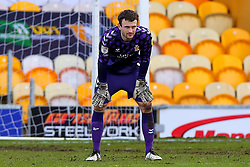 Callum Burton of Cambridge United - Mandatory by-line: Ryan Crockett/JMP - 20/02/2021 - FOOTBALL - One Call Stadium - Mansfield, England - Mansfield Town v Cambridge United - Sky Bet League Two