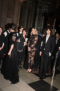 KATE MOSS; BOBBY GILLESPIE, Alexander McQueen: Savage Beauty Gala, Victoria and Albert Museum, and A. 12th March 2015