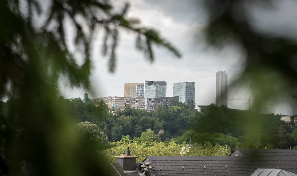 Kirchberg, main location of the European Union institutions in Luxembourg.