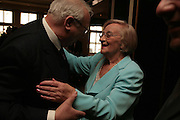 Roy Hudd and Liz Smith, Oldie of the Year Awards. Simpsons-in-the-Strand. London. 13 March 2007.  -DO NOT ARCHIVE-© Copyright Photograph by Dafydd Jones. 248 Clapham Rd. London SW9 0PZ. Tel 0207 820 0771. www.dafjones.com.