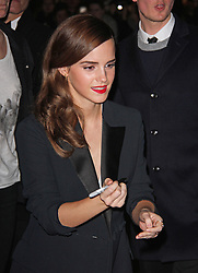 Emma Watson, The British Fashion Awards 2014, The London Coliseum, London UK, 01 December 2014, Photo By Brett D. Cove © Licensed to London News Pictures. 02/12/2014. Brett D Cove/PIQ/LNP