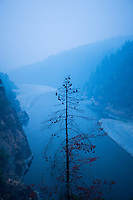 Lower Rogue River in southern Oregon.