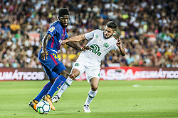 August 7, 2017 - Barcelona, Catalonia, Spain - FC Barcelona defender UMTITI in action during the Joan Gamper Trophy between FC Barcelona and Chapecoense at the Camp Nou stadium in Barcelona (Credit Image: © Matthias Oesterle via ZUMA Wire)
