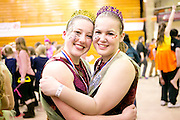 Armada Winterguard performs at their final competition in La Porte, Indiana on March 29, 2014.
